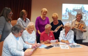 Pershore community groups celebrate £20,000 Heritage Lottery First World War: Then & Now grant award
